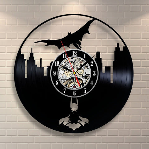 Batman Movie Vinyl Record Wall Clock - Titan Design & Technology