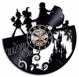 The Wizard of Oz Movie Theme Vinyl Record Wall Clock