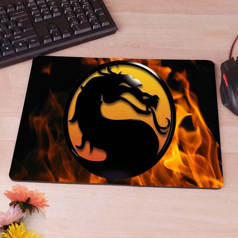 Mortal Kombat Logo Mouse Pad - Titan Design & Technology