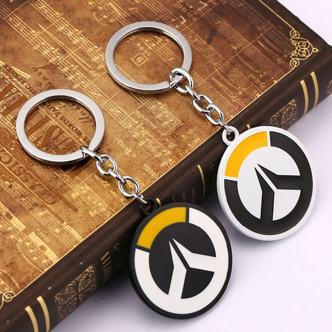 Overwatch Logo Metal Key Chains - Titan Design & Technology - 1