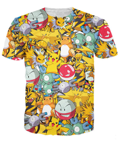 Pokemon Electric Type Unisex T-Shirt - Titan Design & Technology