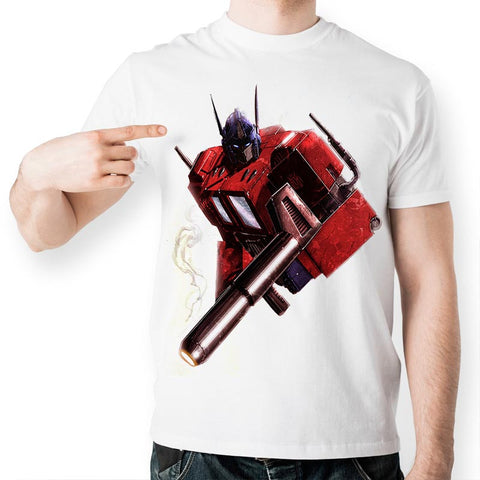Transformers Optimus Prime Unisex T-Shirt - Titan Design & Technology - 1