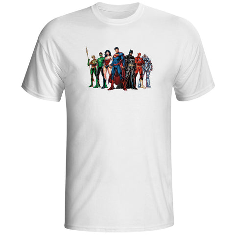 Justice League Assemble Unisex T-Shirt - Titan Design & Technology