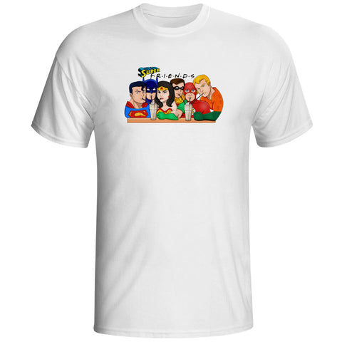 Justice League Super Friends Unisex T-Shirt - Titan Design & Technology