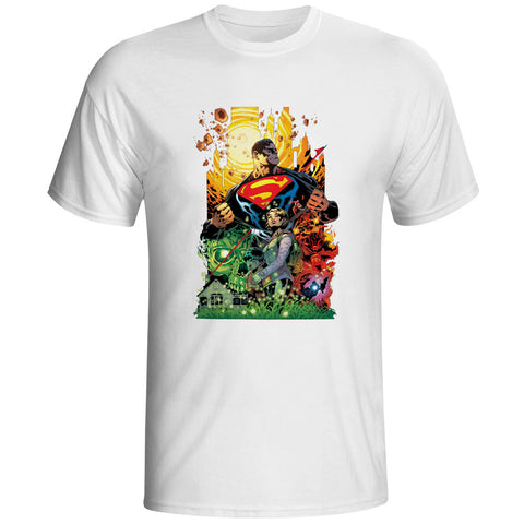 Justice League Superman Unisex T-Shirt - Titan Design & Technology