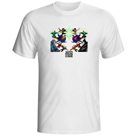 Justice League Good vs Evil Unisex T-Shirt - Titan Design & Technology