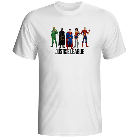 Justice League Team Unisex T-Shirt - Titan Design & Technology