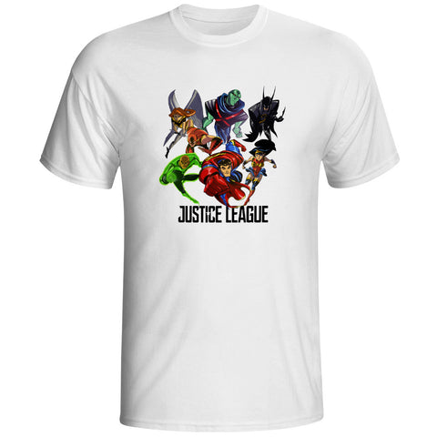 Justice League Attack Unisex T-Shirt - Titan Design & Technology