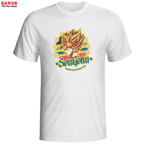 Dragon Ball Z Super Saiyan Son Goku Unisex T-Shirt - Titan Design & Technology