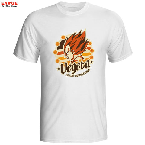 Dragon Ball Z Prince Vegeta Unisex T-Shirt - Titan Design & Technology