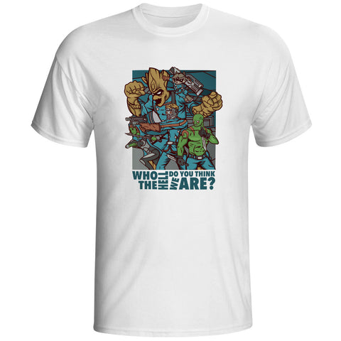 Guardians of the Galaxy Who Do You Think We Are? Unisex T-Shirt - Titan Design & Technology