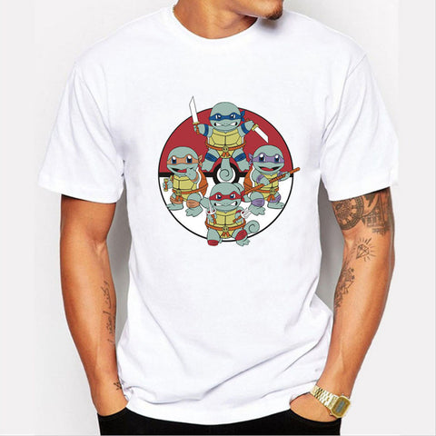 Teenage Mutant Ninja Squirtles Men's T-Shirt - Titan Design & Technology