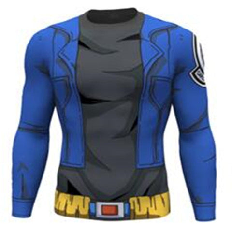 Dragon Ball Z: Assorted Long Sleeve Men's Compression Shirts
