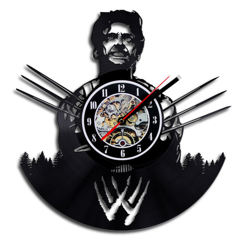 The X-Men Wolverine Vinyl Record Wall Clock
