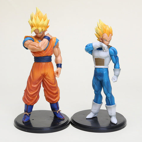 Dragon Ball Z: Super Saiyan Goku & Vegeta Resolution of Soldiers Vol. 2 17-18cm Figures (2 piece set) [Banpresto]