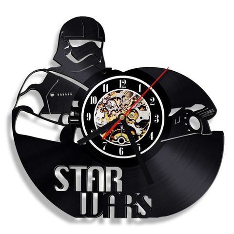 Star Wars Stormtrooper Theme Vinyl Record Wall Clock