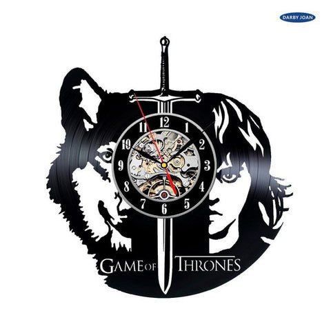 Game of Thrones Theme Vinyl Record Wall Clock