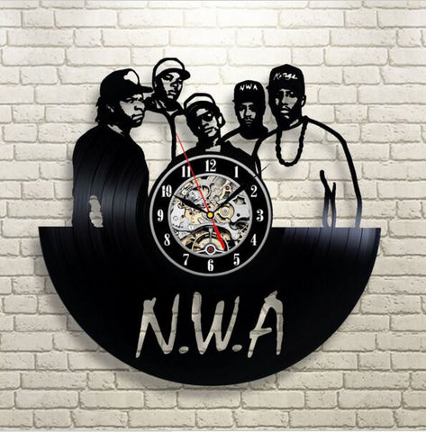 N.W.A. Vinyl Record Wall Clock