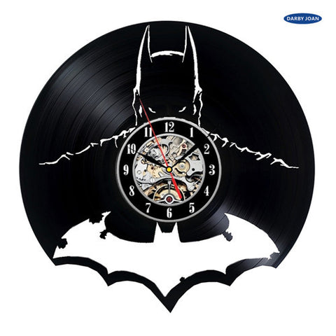 DC Comics: Batman Vinyl Record Wall Clock