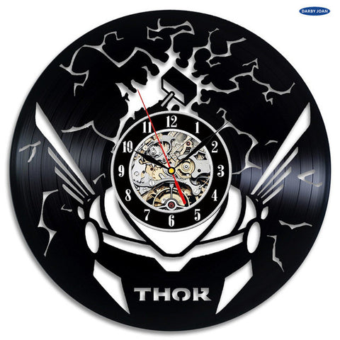 Marvel: Thor Avengers Vinyl Record Wall Clock