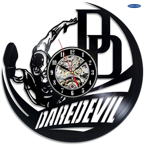 Marvel: Daredevil Vinyl Record Wall Clock