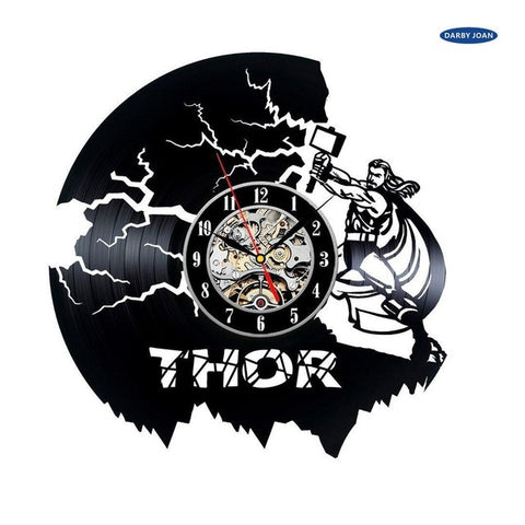Marvel: Thor Vinyl Record Wall Clock