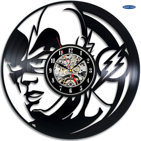 DC Comics: The Flash Vinyl Record Wall Clock