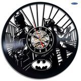 Batman & Catwoman DC Comics Vinyl Record Wall Clocks