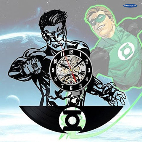 DC Comics: Green Lantern Vinyl Record Wall Clock