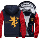 "Game of Thrones House Lannister of Casterly Rock ""Hear Me Roar"" Fleece Hoodies"