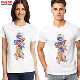 Street Fighter Chun-Li Sakura Cammy Men's T-Shirt - Titan Design & Technology - 2