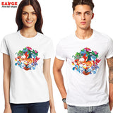 Pokemon Starters Evolution Unisex T-Shirt - Titan Design & Technology - 2