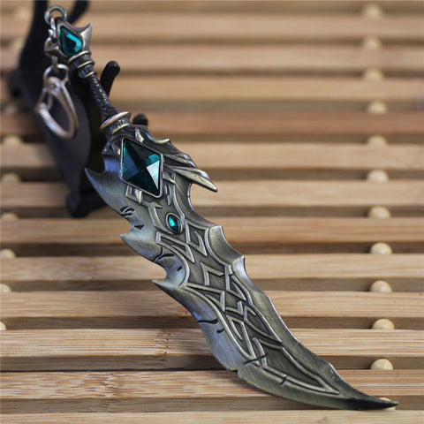 League of Legends Tryndamere Sword Key Chain - Titan Design & Technology - 1