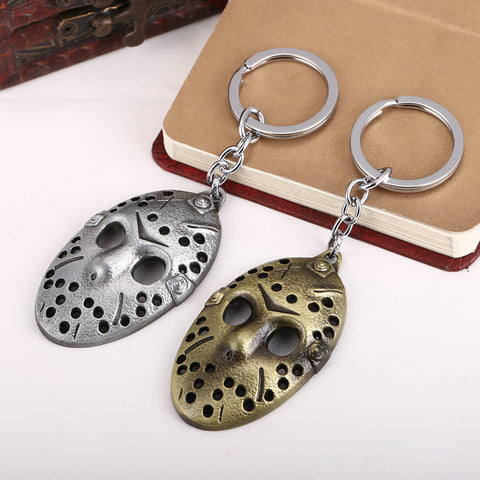 Friday the 13th Jason Hockey Mask Key Chain - Titan Design & Technology - 1
