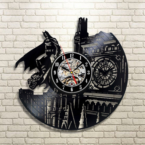 Batman Dark Knight Vinyl Record Wall Clock - Titan Design & Technology