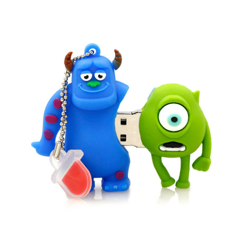 Mike & Sulley Monsters Inc USB 2.0 Flash Drive - Titan Design & Technology - 1