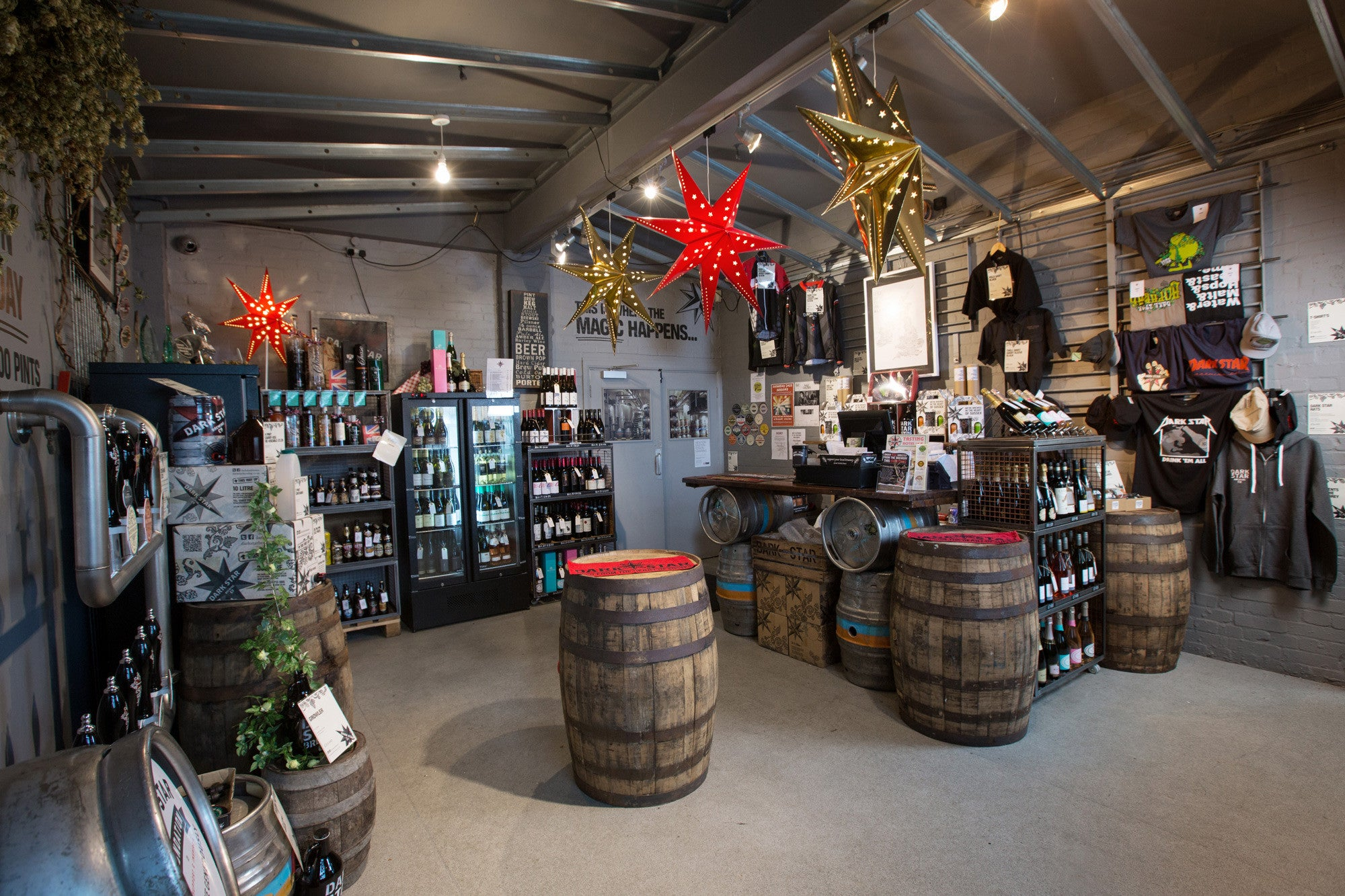 Dark Star Brewing Co. Shop