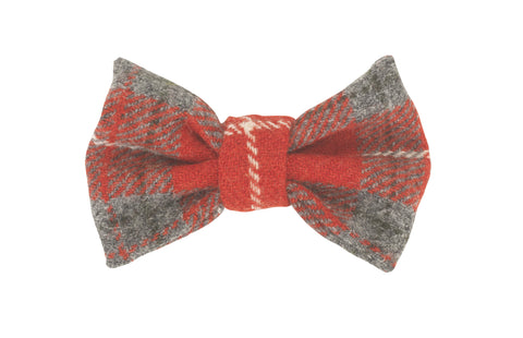 HOXTON TARTAN BOW WOW DOG BOW TIE