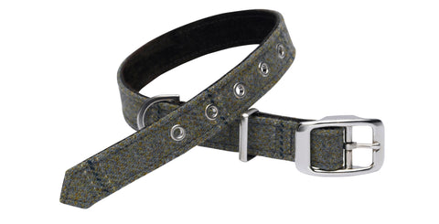 DIGBY TWEED DOG COLLAR