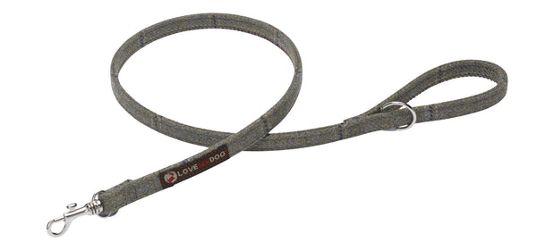 DIGBY TWEED DOG LEAD