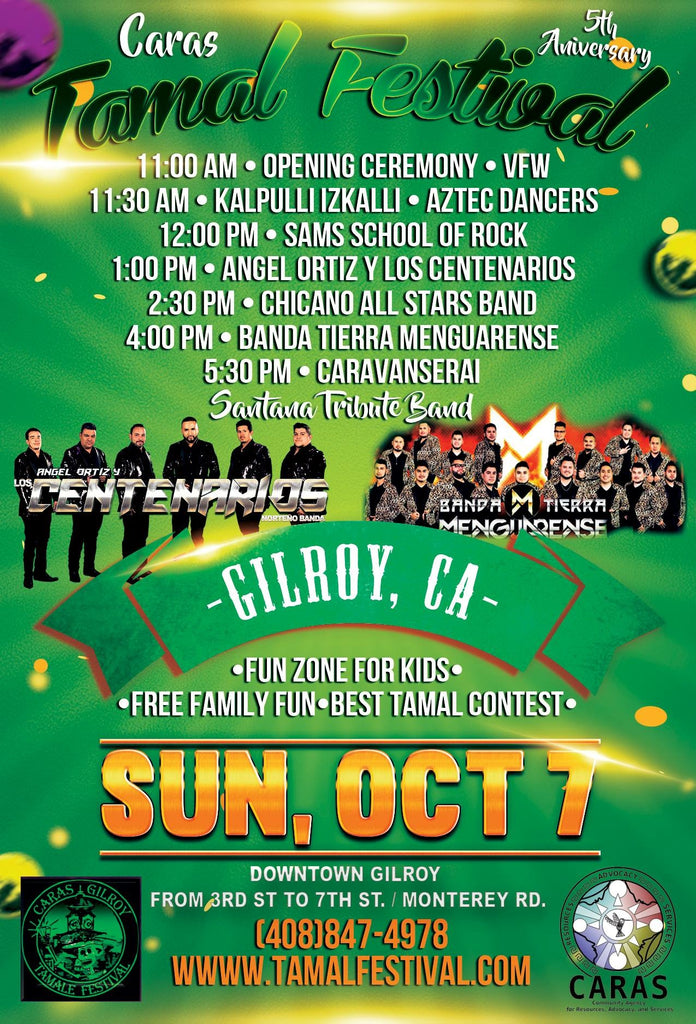 Gilroy 5th Annual Tamale Festival