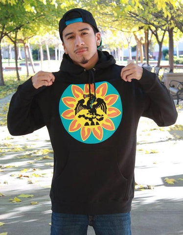 Hoodie - Unisex Mexica Flag