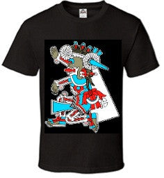 T-Shirt - Mictlantecuhtli Mens Short Sleeve
