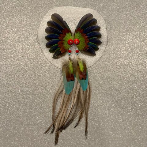Feather wing Earrings 124