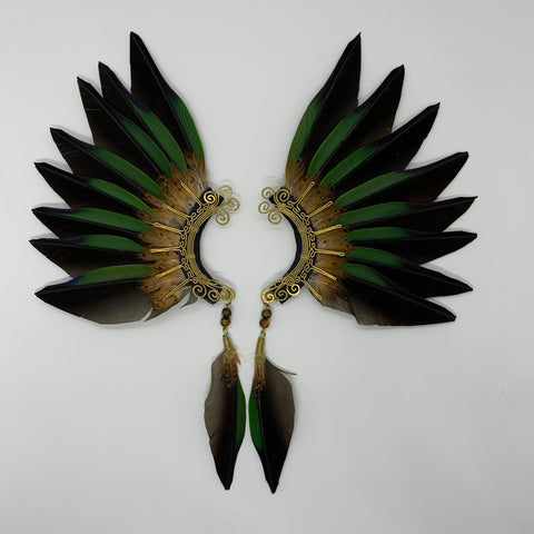 Feather wing Earrings 330