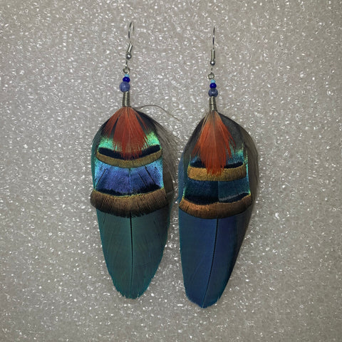 Feather Earrings(Medium) 29