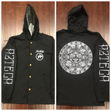 Windbreaker - Aztec Calendar button up