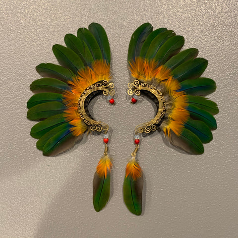Feather wing Earrings 144