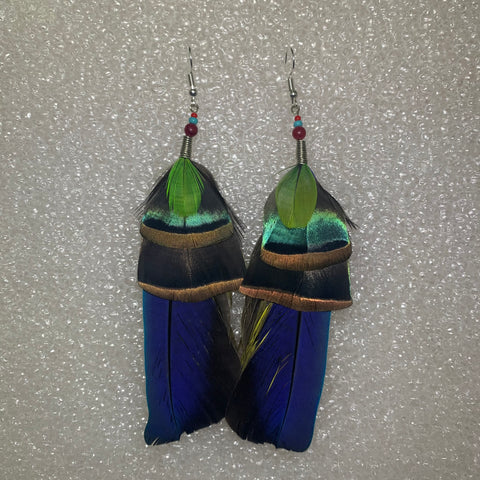 Feather Earrings(Medium) 28
