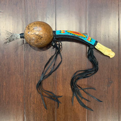 Aztec Dance Rattle 13